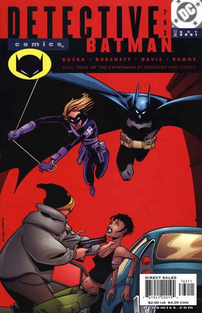 Cover for Detective Comics (DC, 1937 series) #762