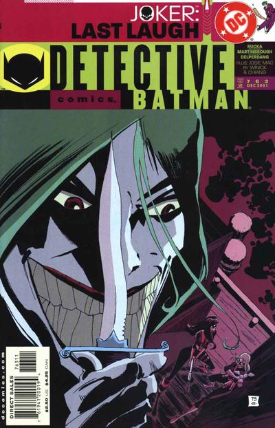 Cover for Detective Comics (DC, 1937 series) #763