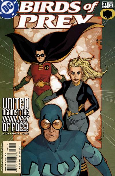 Cover for Birds of Prey (DC, 1999 series) #37