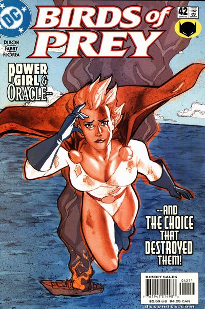 Cover for Birds of Prey (DC, 1999 series) #42