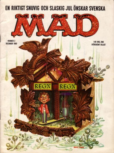 Cover for Mad (Williams Förlags AB, 1960 series) #2/1960