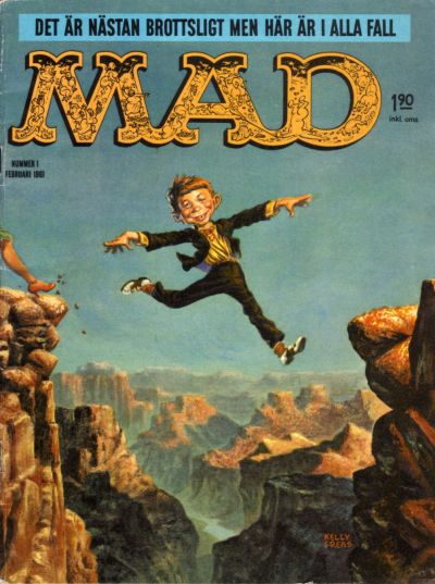 Cover for Mad (Williams Förlags AB, 1960 series) #1/1961