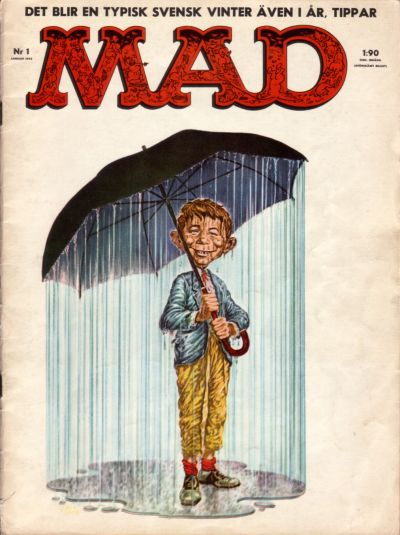 Cover for Mad (Williams Förlags AB, 1960 series) #1/1962