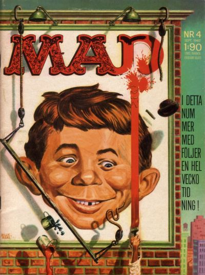 Cover for Mad (Williams Förlags AB, 1960 series) #4/1962
