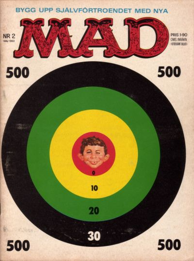 Cover for Mad (Williams Förlags AB, 1960 series) #2/1963