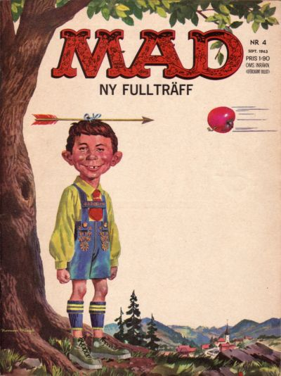 Cover for Mad (Williams Förlags AB, 1960 series) #4/1963