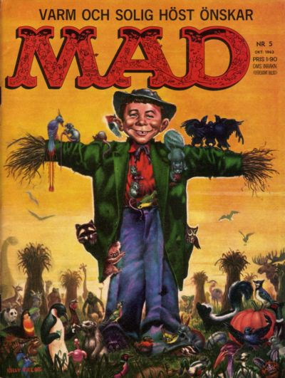 Cover for Mad (Williams Förlags AB, 1960 series) #5/1963