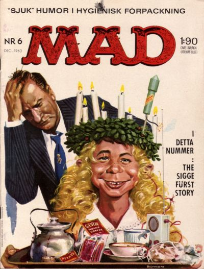 Cover for Mad (Williams Förlags AB, 1960 series) #6/1963