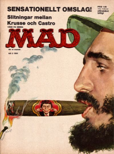 Cover for Mad (Williams Förlags AB, 1960 series) #5/1964