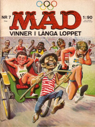 Cover for Mad (Williams Förlags AB, 1960 series) #7/1964