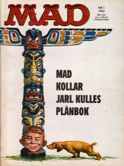 Cover for Mad (Williams Förlags AB, 1960 series) #1/1965