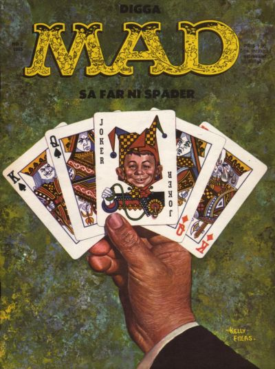 Cover for Mad (Williams Förlags AB, 1960 series) #2/1965