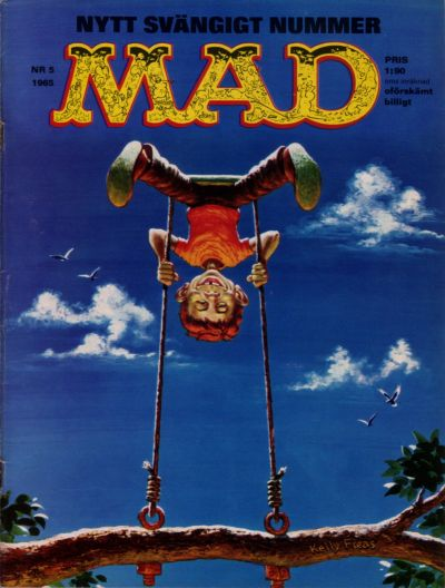 Cover for Mad (Williams Förlags AB, 1960 series) #5/1965