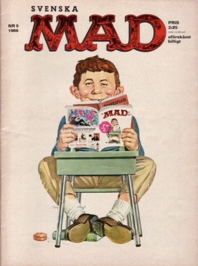 Cover for Mad (Williams Förlags AB, 1960 series) #5/1966