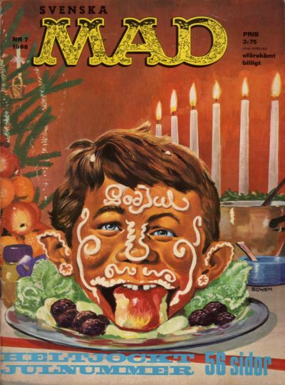 Cover for Mad (Williams Förlags AB, 1960 series) #7/1966
