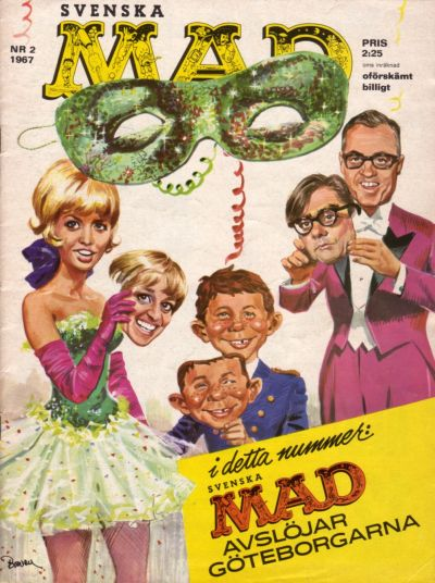 Cover for Mad (Williams Förlags AB, 1960 series) #2/1967