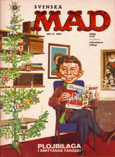 Cover for Mad (Williams Förlags AB, 1960 series) #12/1967