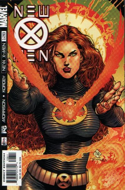 Cover for New X-Men (Marvel, 2001 series) #128 [Direct Edition]