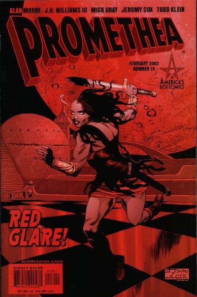 Cover for Promethea (DC, 1999 series) #18