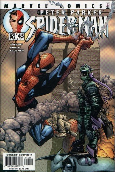 Cover for Peter Parker: Spider-Man (Marvel, 1999 series) #45 (143)