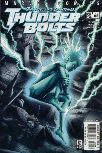 Cover for Thunderbolts (Marvel, 1997 series) #66