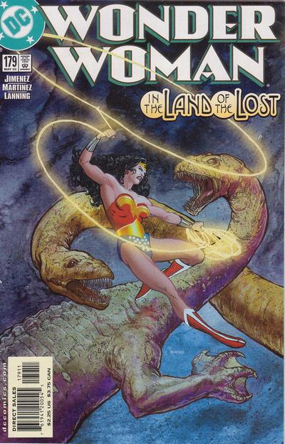 Cover for Wonder Woman (DC, 1987 series) #179