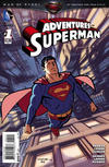 Cover for Adventures of Superman (DC, 2013 series) #1 [Chris Samnee Variant Cover]