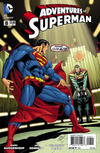 Cover for Adventures of Superman (DC, 2013 series) #8