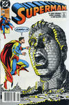 Cover for Superman (DC, 1987 series) #39 [Newsstand]