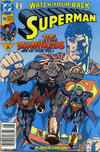 Cover for Superman (DC, 1987 series) #58 [Newsstand]