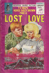 Cover for Hospital Nurse Picture Library (Pearson, 1964 series) #20 - Lost Love