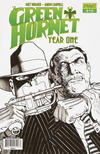 "Cover Thumbnail for Green Hornet: Year One (2010 series) #12 [""Black, White & Green"" Retailer Incentive Cover]"