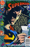 Cover for Superman (DC, 1987 series) #64 [Newsstand]