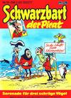 Cover for Schwarzbart der Pirat (Bastei Verlag, 1980 series) #19