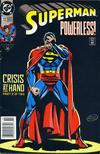 Cover for Superman (DC, 1987 series) #72 [Newsstand]