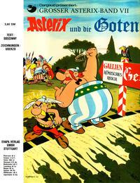 Cover Thumbnail for Asterix (Egmont Ehapa, 1968 series) #7 - Asterix und die Goten [x. Aufl. ]