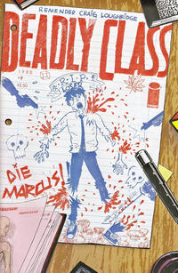 Cover Thumbnail for Deadly Class (Image, 2014 series) #9