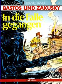 Cover Thumbnail for Bastos und Zakusky (comicplus+, 1986 series) #4 - In die Falle gegangen