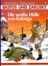 Cover Thumbnail for Bastos und Zakusky (comicplus+, 1986 series) #2 - Die weiße Hölle von Katorga