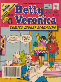 Cover Thumbnail for Betty and Veronica Comics Digest Magazine (Archie, 1983 series) #12 [Canadian]