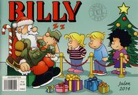 Cover Thumbnail for Billy julehefte (Hjemmet / Egmont, 1970 series) #2014 [Bokhandelutgave]