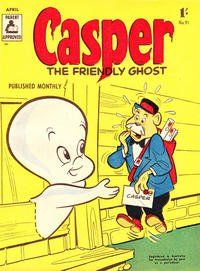 Cover Thumbnail for Casper the Friendly Ghost (Associated Newspapers, 1955 series) #51