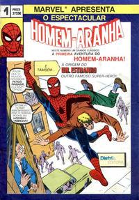Cover Thumbnail for O Espectacular Homem-Aranha [Spider-Man] (Distri Editora, 1983 series) #1