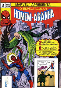 Cover Thumbnail for O Espectacular Homem-Aranha [Spider-Man] (Distri Editora, 1983 series) #3
