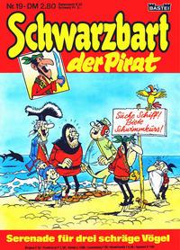 Cover Thumbnail for Schwarzbart der Pirat (Bastei Verlag, 1980 series) #19