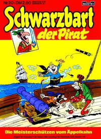 Cover Thumbnail for Schwarzbart der Pirat (Bastei Verlag, 1980 series) #20