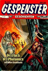 Cover Thumbnail for Gespenster Geschichten (Bastei Verlag, 1974 series) #531