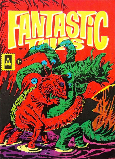 Cover for Fantastic Tales (Thorpe & Porter, 1963 series) #6