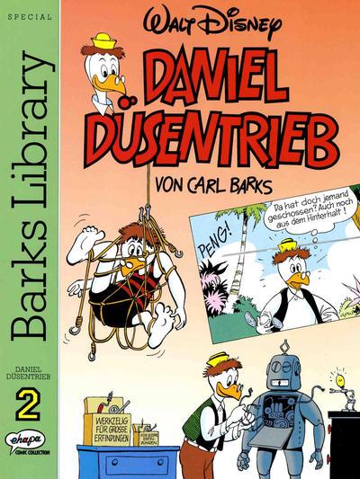 Cover for Barks Library Special - Daniel Düsentrieb (Egmont Ehapa, 1994 series) #2