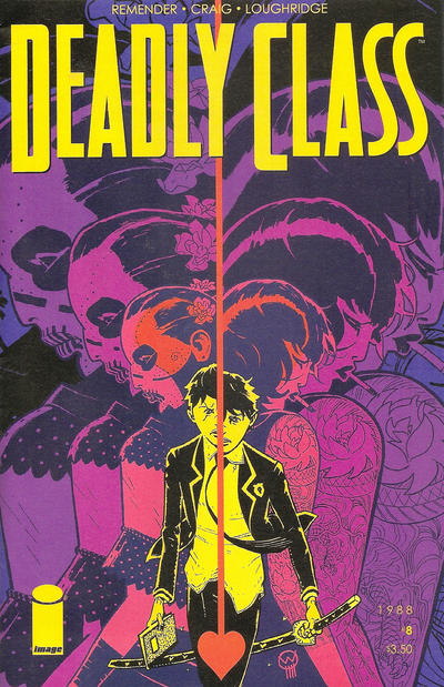 Cover for Deadly Class (Image, 2014 series) #8